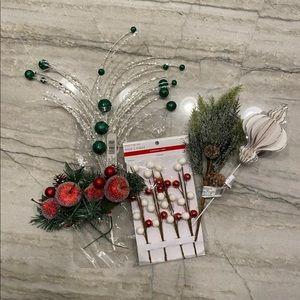 Christmas Tree Pick Decorations Bundle